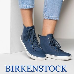 Birkenstock Bartlett Lace Up High Top Sneaker Boot